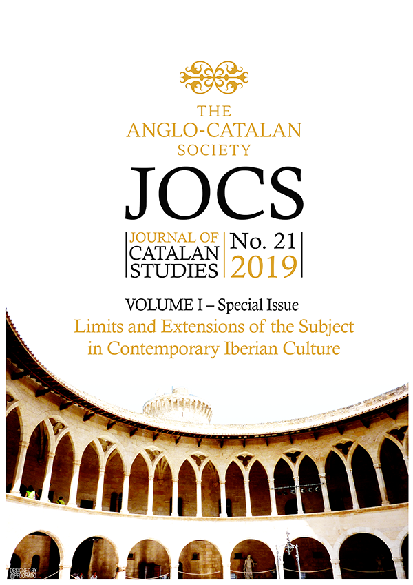 View Vol. 1 No. 21 (2019): Special Issue – Limits and Extensions of the Subject in Contemporary Iberian Culture
